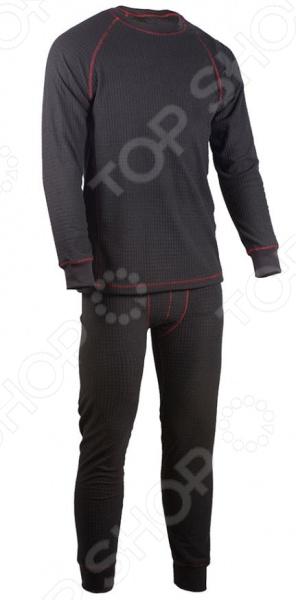 Комплект термобелья Huntsman HF-101 комплект термобелья мужской huntsman zip брюки кофта цвет черный h 100 zip 901 размер l 48 50