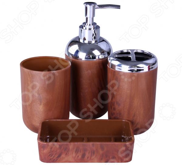 Набор аксессуаров для ванной комнаты Patricia «Дерево»