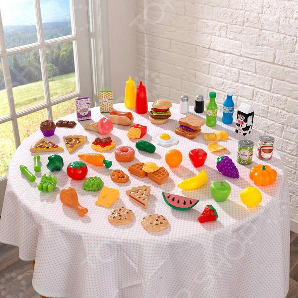 Набор продуктов игрушечных KidKraft «Вкусное удовольствие». Количество элементов: 65