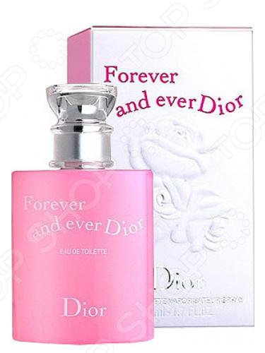 Туалетная вода для женщин Christian Dior Forever and Ever, 100 мл туалетная вода для женщин christian dior dolce vita