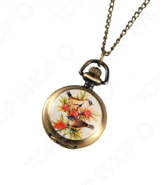 Кулон-часы Mitya Veselkov «Летние птички»