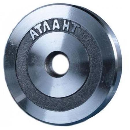 Купить Диск Атлант для штанги. Диаметр отверстия диска: 25,6 мм