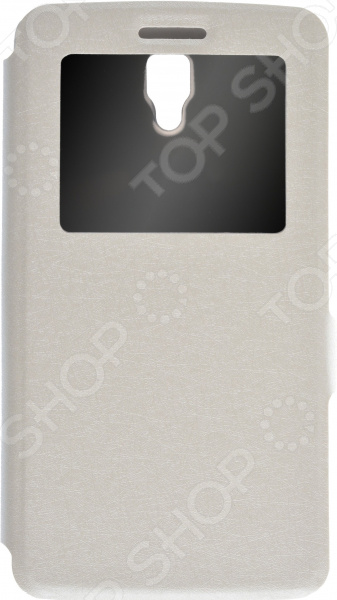 Чехол Prime Lenovo A2010 флип кейс euro line vivid для lenovo a2010