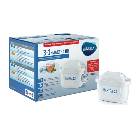 Купить Комплект картриджей к фильтру для воды Brita Maxtra+ «Универсальный 4»