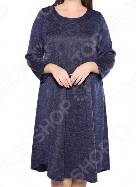 Платье Pretty Woman «Душевный уют». Цветы: синий