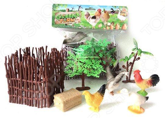 Набор фигурок домашних животных Shantou Gepai с аксессуарами 2C214-2