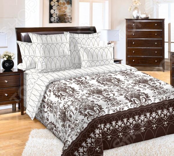 цена Комплект постельного белья Королевское Искушение «Классик 1» онлайн в 2017 году