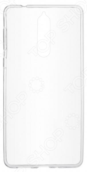 Чехол защитный skinBOX Nokia 8 накладка защитная skinbox nokia 5