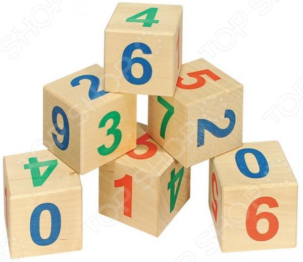 Кубики развивающие Теремок «Веселый счет» развивающие игрушки стеллар пирамида теремок