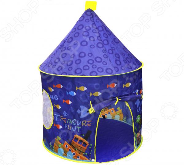 Палатка игровая Наша Игрушка «Море» игрушки для улицы игровая палатка с мячиками 100 шт calida вилла 85х85х110см