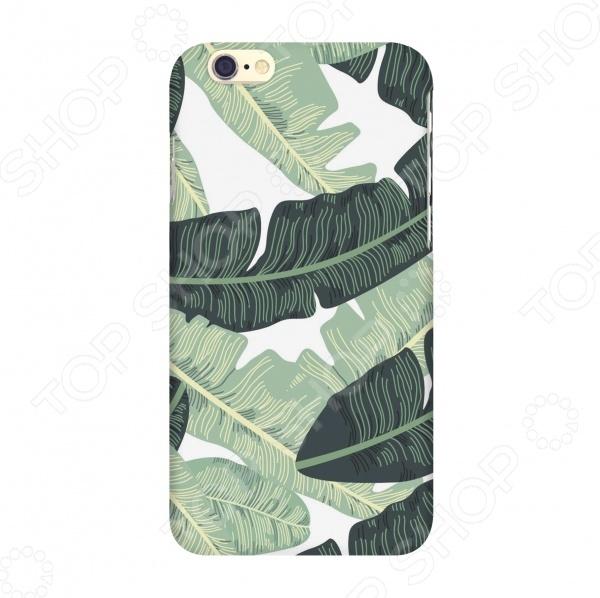 Чехол для IPhone 6 Mitya Veselkov «Листья пальмы» mitya veselkov чехол для iphone 6 скандинавская лошадка