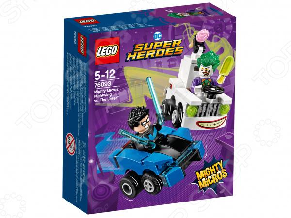 Конструктор игровой LEGO Super Heroes Mighty Micros «Найтвинг против Джокера» lego education 9689 простые механизмы