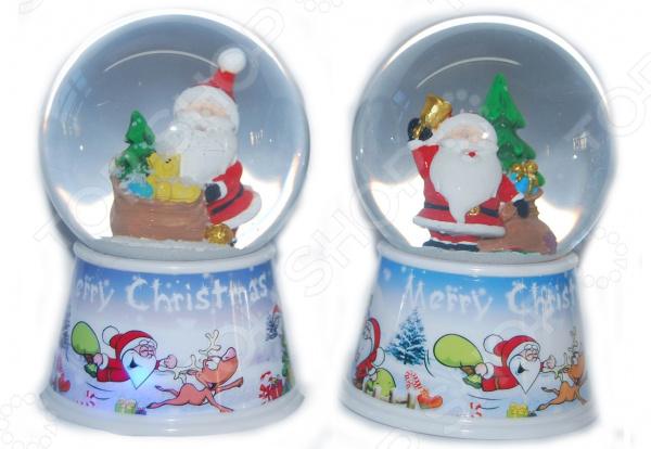 Декорация-шар Новогодняя сказка «Дед Мороз». В ассортименте игровые фигурки новогодняя сказка кукла дед мороз сидячий 43 см