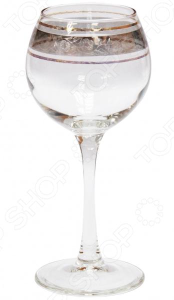 Набор фужеров для вина Гусь Хрустальный «Эдем. Флорис» набор бокалов гусь хрустальный флорис 190 мл 6 шт