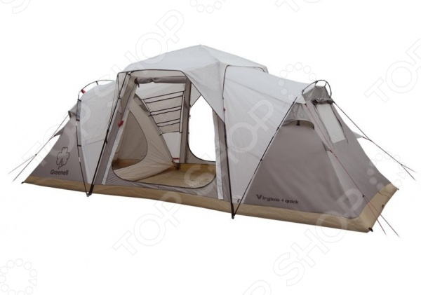 Палатка с автоматическим каркасом NOVA TOUR «Виржиния 4 квик» палатка greenell виржиния 6 плюс green