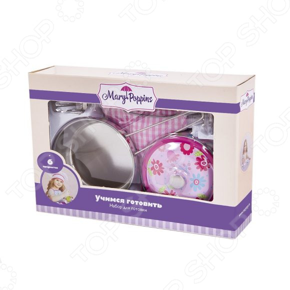 Игровой набор для ребенка Mary Poppins «Цветы» мешок для обуви mary poppins с ручками цветы