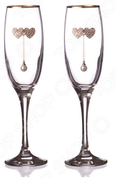 Набор бокалов для шампанского 802-510117 набор бокалов для бренди коралл 40600 q8105 400 анжела