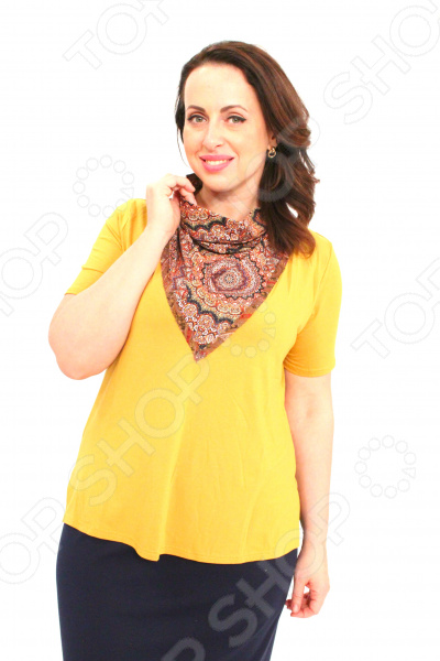 Блуза Milana Style «Хелен». Цвет: желтый