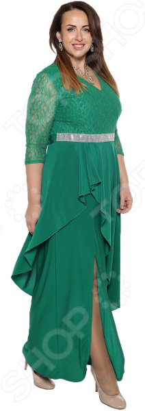 Платье Pretty Woman «Неделя моды». Цвет: зеленый