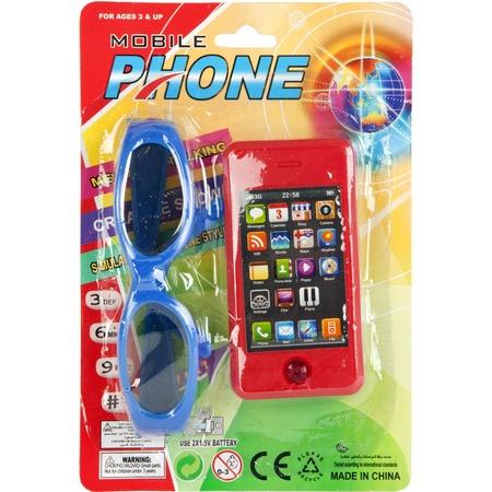 Купить Телефон обучающий MSN Toys на батарейках