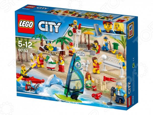 Конструктор игровой LEGO City «Отдых на пляже»