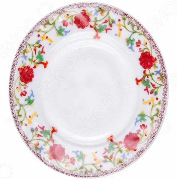 Тарелка десертная Miolla «Полянка» тарелка десертная miolla изящество