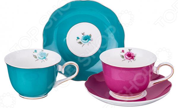 Чайная пара Lefard 275-843 наборы для чаепития lefard чайная пара венская классика 230мл