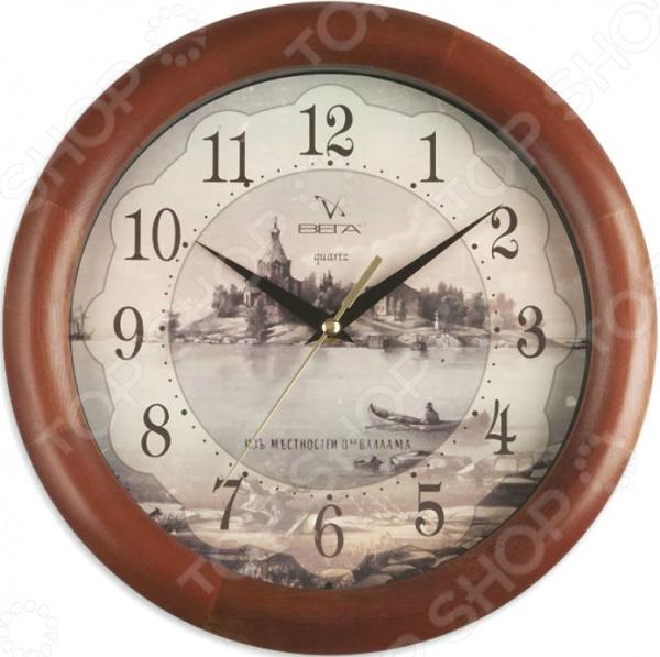 Часы настенные Вега Д 1 МД 6 138 «Валаам»