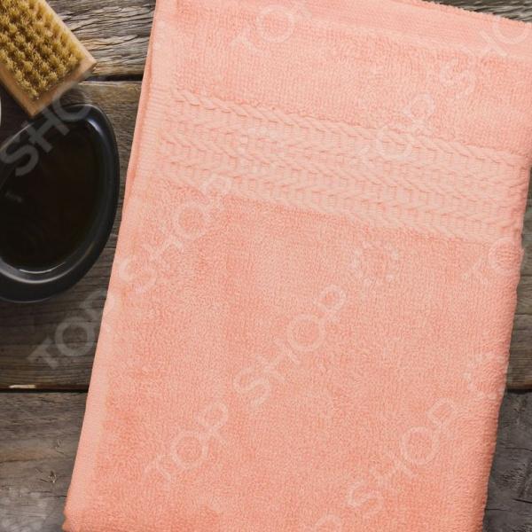 Полотенце махровое Amore Mio AST Classic. Цвет: персиковый полотенце махровое amore mio ast classic цвет малиновый