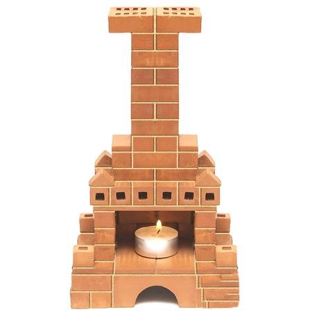 Купить Конструктор из глины Brick Master «Кирпичики. Печка»