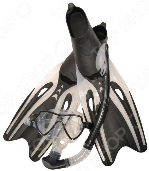 Zakazat.ru: Набор из маски, трубки и ласт WAWE MSF-1390S65F69
