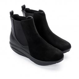 Ботинки женские Walkmaxx Стильный Комфорт. Цвет: черный