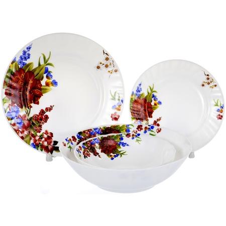 Купить Набор столовой посуды OlAff «Наранга». Количество предметов: 19
