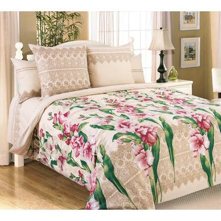 Купить Комплект постельного белья Королевское Искушение «Гладиолусы». Евро