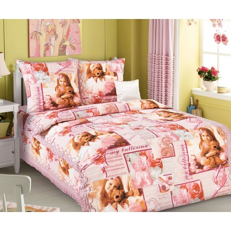 Купить Детский комплект постельного белья Бамбино «Балерина»