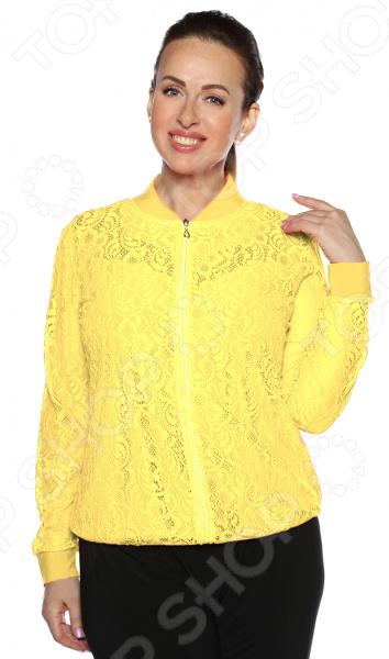 Бомбер Pretty Woman «Очарование». Цвет: желтый недорго, оригинальная цена