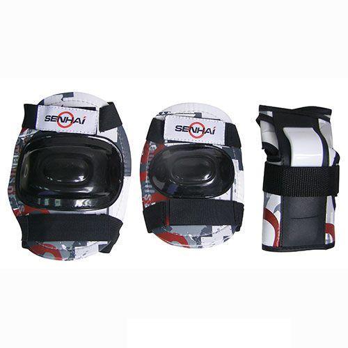 Комплект защиты для роликовых коньков Action PWM-303