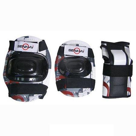 Купить Комплект защиты для роликовых коньков Action PWM-303