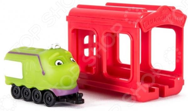Игровой набор с фигуркой Чаггингтон «Паровозик Koko с гаражом» игровой набор с фигуркой чаггингтон паровозик koko с гаражом