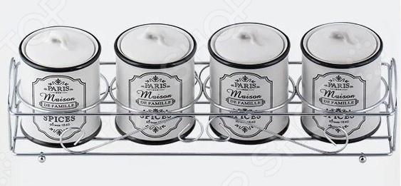 Набор для специй Maestro MR-20030-04СS Paris Maison