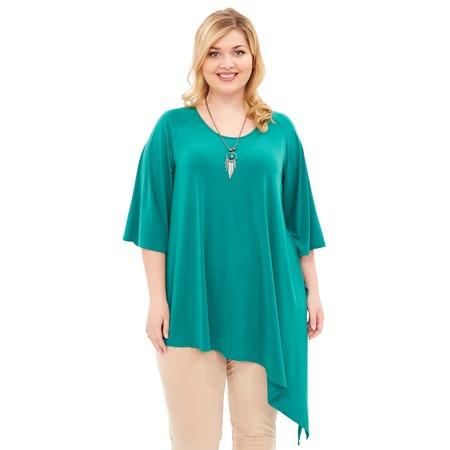 Купить Туника Лауме-Лайн «Магия кулона». Цвет: зеленый