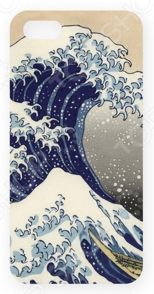 Чехол для IPhone 5 Mitya Veselkov «Цунами» музыка цунами в японии