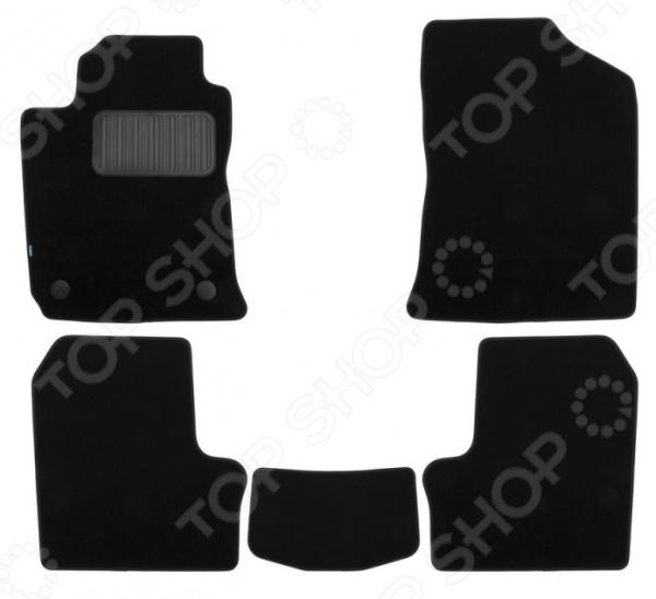 Комплект ковриков в салон автомобиля Klever Premium для BYD F3 седан, 2005 тент для автомобиля byd s6s7 suv