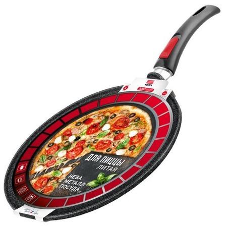 Купить Сковорода со съемной ручкой для пиццы Нева-металл Granite