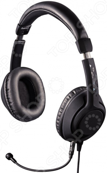Гарнитура компьютерная Hama Black Desire наушники гарнитура gamdias hephaestus v2 surround sound black