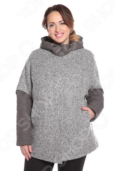 Куртка D`imma «Лука». Цвет: серый d imma fashion studio плащ катрин бежевый