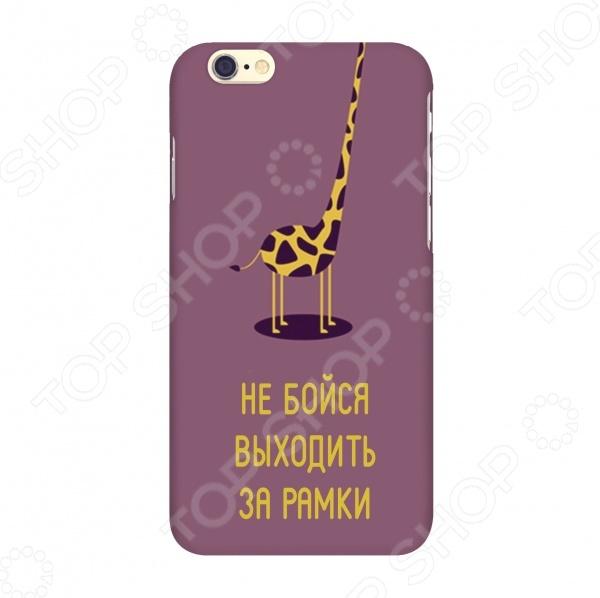 Чехол для IPhone 6 Mitya Veselkov «Жираф-смельчак» игрушка panawealth смельчак vs003