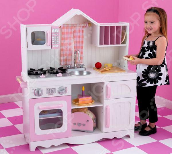 Кухня детская с аксессуарами KidKraft «Модерн»