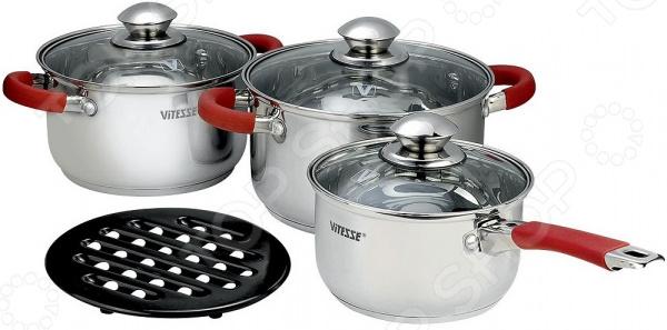 Набор посуды Vitesse VS-9016 набор посуды из 7 предметов vitesse vs 9016