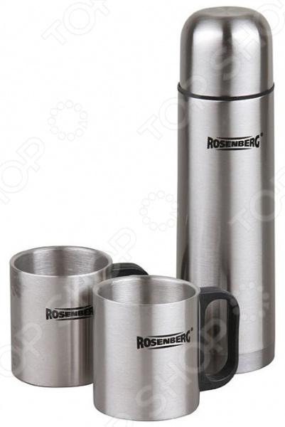 Набор подарочный: термос и кружки Rosenberg RSS-420105